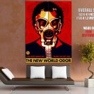The New World Odor Gas Mask Propaganda Art Huge Giant Print Poster