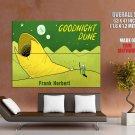 Dune Frank Herbert Worm Funny Cool Art Huge Giant Print Poster