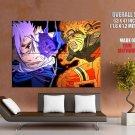 Friends Or Rivals Naruto Shippuden Anime Manga Art Huge Giant Print Poster