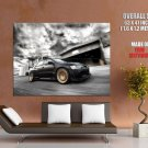 Mitsubishi Lancer Evolution Ix 9 Car Huge Giant Print Poster