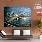 Northrop P 61 Black Widow Military Aicraft Huge Giant Print Poster