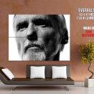 Dennis Hopper Actor Bw Portrait Huge Giant Print Poster