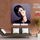 Audrey Hepburn Actress Smile Portrait Huge Giant Print Poster