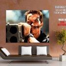 Arnold Schwarzenegger Commando Rocket Launcher Movie HUGE GIANT Print POSTER