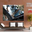 Avatar Na Vi Warrior Sc Fi Movie Art Huge Giant Print Poster