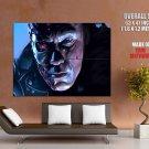 Terminator T 800 Arnold Schwarzenegger Red Eye Art Huge Giant Print Poster