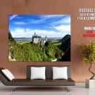 Neuschwanstein Castle Bavaria Germany Nature Huge Giant Print Poster
