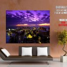 Cancun Twilight Mexico Nature Landscape Huge Giant Print Poster