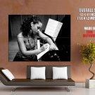 Alicia Keys Bw Soul R B Music Huge Giant Print Poster