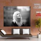 Laura Marling Folk Singer Bw Music Huge Giant Print Poster