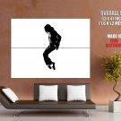 Michael Jackson Silhouette Pop Music Huge Giant Print Poster
