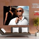 Pitbull Rapper Singer Entertainer Hip Hop Music Huge Giant Print Poster