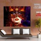Beautiful Venice Carnival Mask Art Huge Giant Print Poster