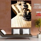 Fender Jazz Bass Guitar Vertical Macro Art Huge Giant Print Poster