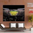 New York Yankees Stadium Baseball Mlb Sport Huge Giant Print Poster