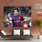 Lionel Leo Messi Celebration Soccer Football Sport Huge Giant Print Poster