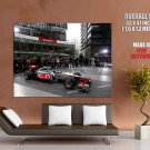 Mc Laren Formula 1 One Presentation Racing Car Sport Huge Giant Print Poster