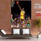 James Worthy Layup Los Angeles Lakers Bw Nba Basketball Huge Giant Poster