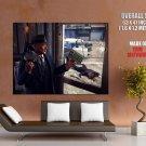 Gangster Mobster Tommy Gun Firefight Police Art Outlaw Huge Giant Poster
