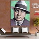 Al Capone Portrait Art Gangster Mobster Outlaw Huge Giant Poster