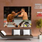 Bj Penn Punch Edgar Mma Mixed Martial Arts Huge Giant Poster