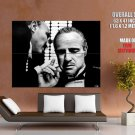 Marlon Brando Godfather Art Legendary Actor Bw Huge Giant Poster