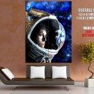 Ellen Ripley Spacesuit Painting Art Aliens Sigourney Weaver HUGE GIANT POSTER