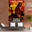Snake Plissken Escape From New York Kurt Russell Movie Huge Giant Poster