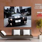 Dodge Challenger SRT8 Black Muscle Car GIANT 63x47 Print Poster
