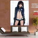 Kipi Black Rock Shooter Hot Girl Japanese Cosplay GIANT 63x47 Print Poster