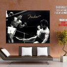 Float Like A Butterfly Sting Like A Bee Muhammad Ali Bw Huge Giant Poster