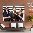 Californication Hank Moody David Duchovny Cop Girls Huge Giant Poster
