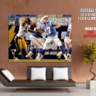 Philip Rivers San Diego Chargers Nfl Football Sport Huge Giant Poster