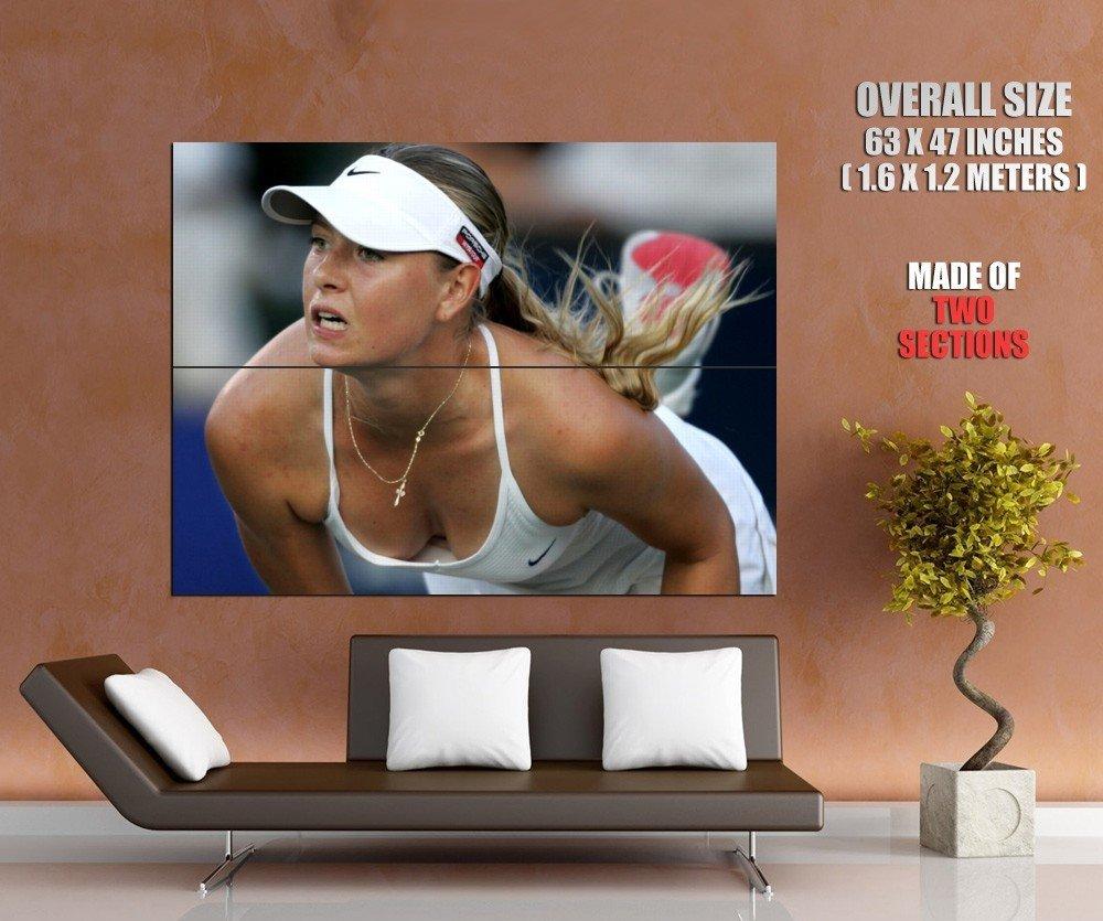 Maria Sharapova Hot Wta Tennis Sport Huge Giant Print Poster