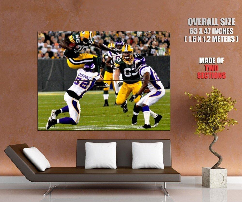 Chad Greenway Tackle Minnesota Vikings Nfl Football Sport Huge Giant Poster
