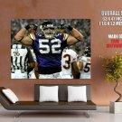 Chad Greenway Minnesota Vikings Nfl Football Sport Huge Giant Poster