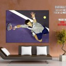 Andy Murray Serve Atp Tennis Sport Huge Giant Print Poster