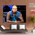 Chris Brown Hot Tattoo Hip Hop R B Music Huge Giant Print Poster