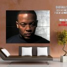 Dr Dre Portrait Gangsta Rap Music Huge Giant Print Poster