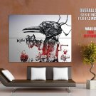 Korn Nu Metal Style Art Music Huge Giant Print Poster
