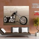 Covingtons Chopper Cruiser Custom Bike Huge Giant Print Poster