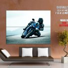 Triumph Sport Bike Motorcycle Huge Giant Print Poster
