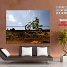 Kawasaki Mxgp Motocross Bike Huge Giant Print Poster