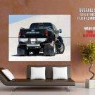 Ford F650 Monster Truck Bigfoot Car Huge Giant Print Poster