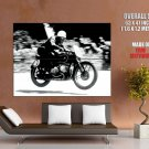 Bmw 255 Rennsport 1939 Retro Bw Huge Giant Print Poster