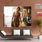 Megan Fox Hot Brunette Girl Huge Giant Print Poster