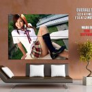 Sexy Asian School Girl Hot Mini Skirt Huge Giant Print Poster