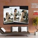Bar Refaeli Sexy Wet Girl Bikini Huge Giant Print Poster