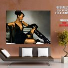 Zoe Saldana Hot Girl Sexy Legs Huge Giant Print Poster