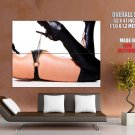 Hot Legs Sexy Butt Leather Heels Huge Giant Print Poster